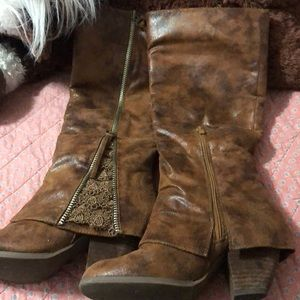 Women's southern fried chics tall boots